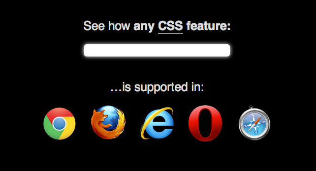 browser support css