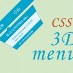 CSS3 Transition 3D選單效果